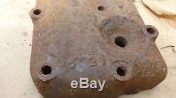 1913 1919 Model T Ford ENGINE CYLINDER LOW HEAD Original high compression