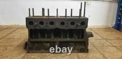 1928 Ford Model A 4 Cylinder Engine Motor Block A 218864 Rare 5 Cam Bearing