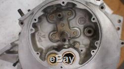 1929 Harley J JD model engine motor case set with docs Nice shape