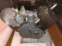 1945 Whizzer Model F Engine MotorParts Motor Bike