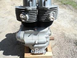 1956 Ajs Model 30 Rebuilt Engine Motor Pre Unit Matchless