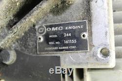 1973 Johnson Jx650 Engine Motor Model 244