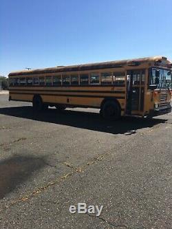 1995 Bluebird Schoolbus Schooling Tiny House 6 6BT 12-Valve P Pump Cummins