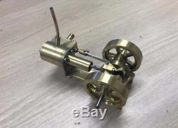 1PC Mini Steam Engine Tractor Model Toy DIY Micro Power Generator Engine Motor