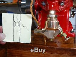 1/2 Scale Breisch Olds gas powered model Hit and Miss engine motor, Show Quality