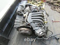 2004 MINI COOPER motor engine 1.6 base model