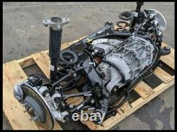 2018 Tesla AWD Model 3 Rear Drop Out Motor Engine Drivetrain Complete Suspension