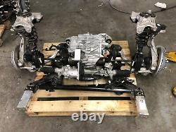 2019 Tesla AWD Model 3 FRONT Drop Out Motor Engine Drivetrain Axle Suspension