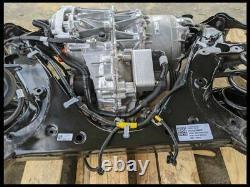 2020 Tesla Model 3 Rear Axle Drop Out Motor Engine Drivetrain Assembly 4k Miles
