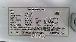 2020 Tesla Model 3 Rear Drive Electric Drivetrain Engine Motor Unit