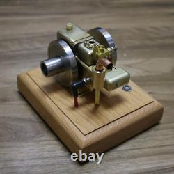 2.6cc Mini Stirling Engine Motor Gasoline Model Water-Cooled Cooling Structure