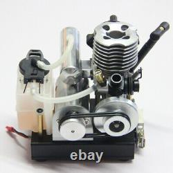 2-Stroke Methanol Engine Model Toy DIY Nitro Engine Power Generator Motor Toy