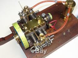 4 Cylinder Scale Gas Model Engine Dale Detrich designed antique motor hit miss