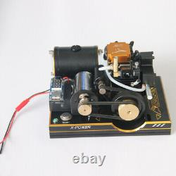 4-Stroke Methanol Engine Model DIY Nitro Engine Generator Motor Toy 3.5CC 0.5HP