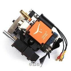 4 Stroke RC Engine Water Cooled Gasoline Model Engine Kit Starting Motor For RC