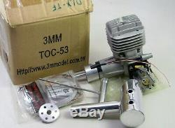 53cc Toc-53 Aircraft Rc Model Airplane Gas Engine Motor Accessories & Box