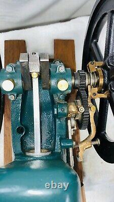 5 HP Red Wing Motor Co. Quarter Scale Model Hit Miss Gas Engine Flywheel Water