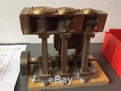 A. J. Reeves Bolton Triple Expansion Steam Engine Scale Model Hand Made No Stuart