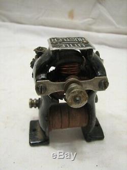 Antique Knapp Little Hustler Electric Motor Type Toy Model Hobby Engine