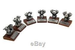Authentic Replica Harley-Davidson Motorcycle Motor Engine Model Collectible Set