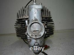 BULTACO 175CC ENGINE MOTOR CYLINDER JUG HEAD 141 AMAL CARB Model 44 Sherpa S