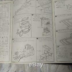 Bandai 1/16 Bianchi Motor Rise Car Engine Model Kit Plastic Model Toy Vintage