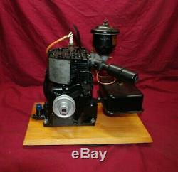 Briggs & Stratton Model WI WithOil Bath & Gas Tank Gas Engine Motor