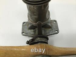 Brown Junior Ignition Tether Car Model Airplane Engine Motor Good Compression