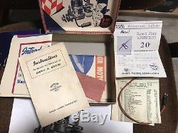 Brown Junior Motor Model Airplane Engine In Box