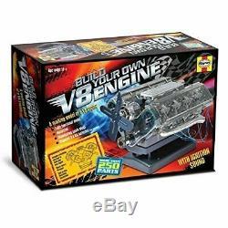Build A Fully Functional, Motorized Model Of V8 Petrol Engine By Haynes Da4817