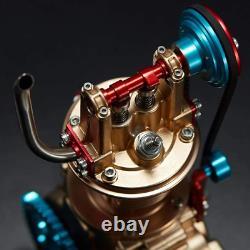 Car Engine Model Metal Craftsmen Cylinder Motor Assembly Collection Educational