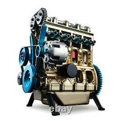 DIY Assembly Mechanical Engine Model Toy Mini V4 Engine Motor Adult Engine Toy