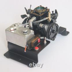 DIY Mixture Gasoline Engine Model Toy Visual Combustion Chamber Engine Motor Toy