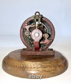 EARLY 20c MODEL STEAM ENGINE DRIVEN DYNAMO MOTOR 5 DAY AUC. NO RES MUST SEE