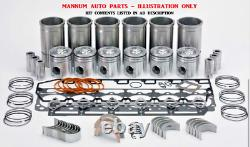 Engine Rebuild Kit Toyota 2h Motor Early Models (with Liners) Up To 10/84