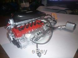 Engine model 1/8 scale laferrari, metal, plastic automotive motor 18