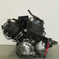 Engine motor runs great! Late model YAMAHA XVS650 XVS 650 V-STAR 2014