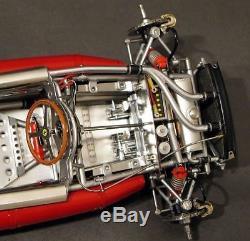 Ferrari Race Car with Engine Motor & Sport Wheels Vintage GP F 1 Formula Model