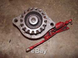 Ford 8N tractor engine motor LATE MODEL governor assembly &/ tachometer drive ca