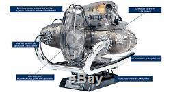 Funktionsmodell-Bausatz Working Engine-Model Build-Kit Maßstab12 BMW R90S-Motor