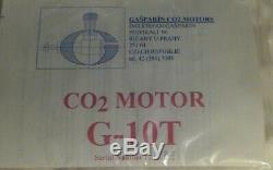 Gasparin G-10T Twin, two cylinder CO2 Model Airplane Engine Motor New
