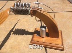 Gasparin vee 12 cylinder co2 model airplane engine motor incredible find