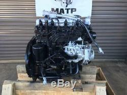 Good Used Hyster TCM Forklift Isuzu C240 Diesel Engine 6017B 4-Cyl Non-Turbo