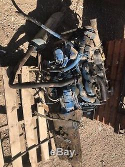 Good Used Isuzu Diesel Engine 4-Cyl Non-Turbo Came Out Of A Luggage Conveyer