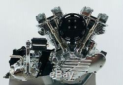 Harley Davidson 1948 Panhead Model Engine Kit & Motor Drive Unit by Marushin