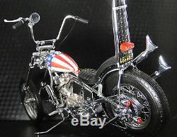 Harley Davidson Motorcycle with Easy Rider Bike Frame & Engine Motor Chopper Model