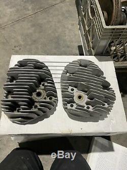 Harley Davidson WLA 45 Model W Heads Engine Motor Parts Military Alloy
