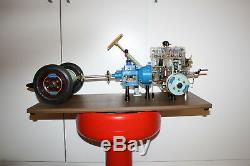 Hohm, cutaway engine, cutaway model, display motor, Degener