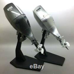 Honda Outboard Engine Motor Scale 1/8 Model Kit RC BOAT Model
