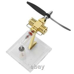 Hot Air Stirling Engine Model Mini Aircraft Propeller Motor Engine Toy Gift